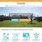 Bubble Soccer Sydney Coupons