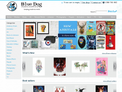 Blue Dog Posters Coupon