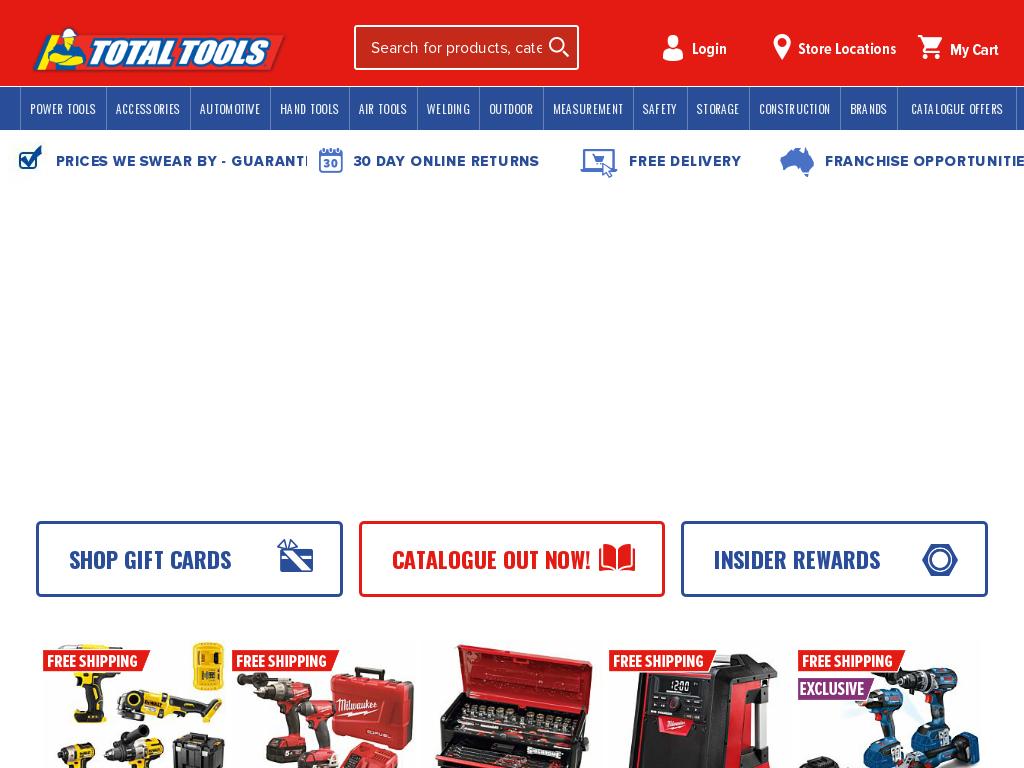 Total Tools Promo Codes