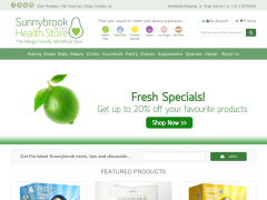 Sunnybrook Health Store Promo Codes