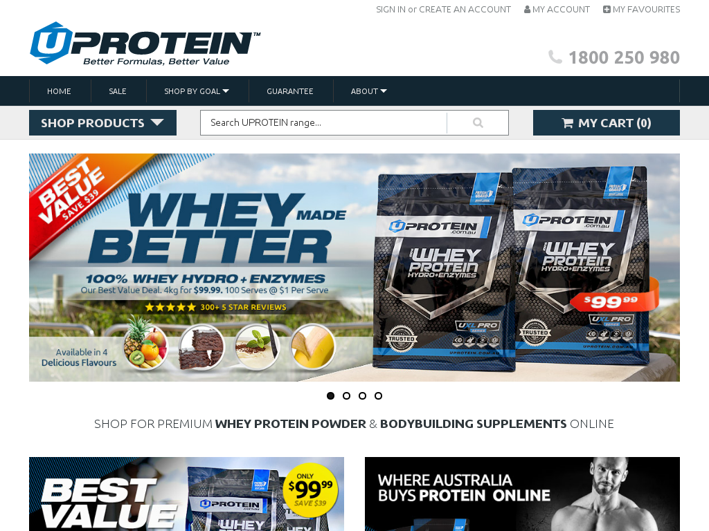 UPROTEIN Promo Codes