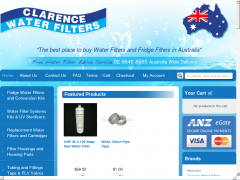 Clarence Water Filters Promo Codes